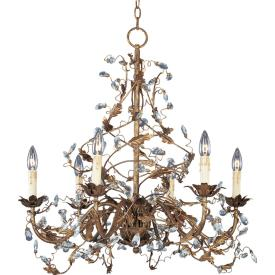 Maxim Lighting 2851 Elegante - Six Light Chandelier