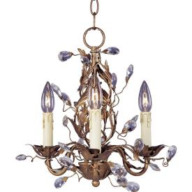 Maxim Lighting 2855 Elegante - Three Light Chandelier