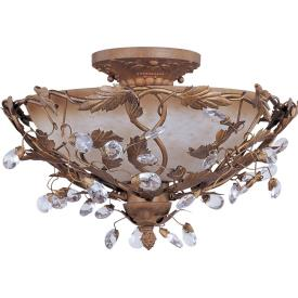 Maxim Lighting 2859 Elegante - Three Light Semi-Flush Mount