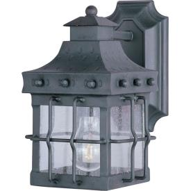 Maxim Lighting 30081CDCF Nantucket - One Light Outdoor Wall Mount
