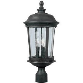 Maxim Lighting 3021 Dover 3 Light Post