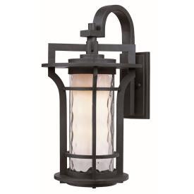 Maxim Lighting 30484WGBO Oakville - One Light Outdoor Wall Mount