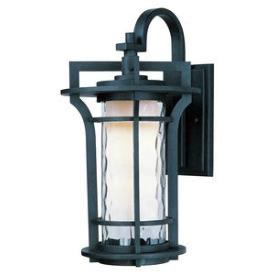 Maxim Lighting 30485WGBO Oakville - One Light Outdoor Wall Lantern