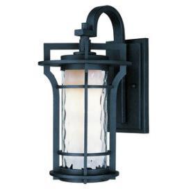 Maxim Lighting 30486WGBO Oakville - One Light Outdoor Wall Lantern