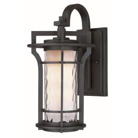Maxim Lighting 30486WGBO Oakville - One Light Outdoor Wall Mount