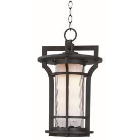 Maxim Lighting 30488WGBO Oakville - One Light Outdoor Hanging Lantern
