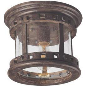 Maxim Lighting 3130 Santa Barbara 1 Light Flush Moun