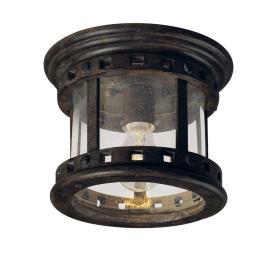 Maxim Lighting 3130 Santa Barbara DC - One Light Outdoor Flush Mount