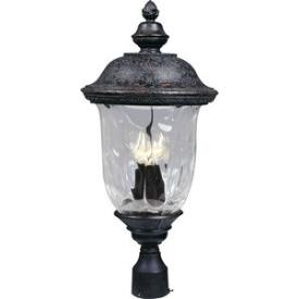 Maxim Lighting 3420 Carriage House Dc 3 Light Post