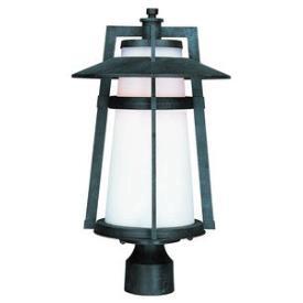 Maxim Lighting 3530SWAE Calistoga - One Light Outdoor Pole/Post Lantern