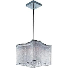 Maxim Lighting 39704CLPC Swizzle - Twelve Light Pendant