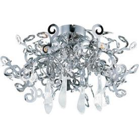 Maxim Lighting 39841 Tempest - Five Light Flush Mount
