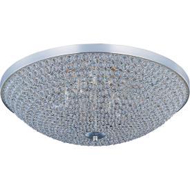 Maxim Lighting 39872BCPS Glimmer - Six Light Flush Mount