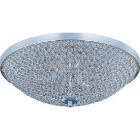 Maxim Lighting 39873BCPS Glimmer - Nine Light Flush Mount