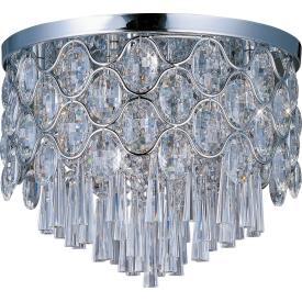 Maxim Lighting 39920BCPC Jewel - Twelve Light Flush Mount