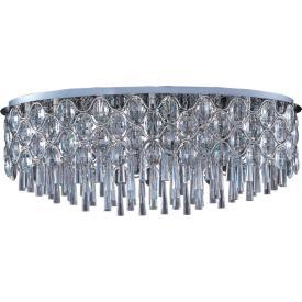 Maxim Lighting 39928BCPC Jewel - 23-Light Flush Mount