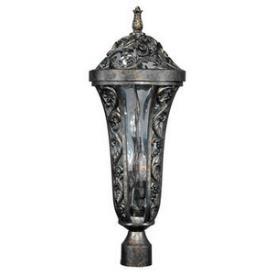 Maxim Lighting 40140WGTR Montecito Vx 3-light Outdoor Pole/post Lantern