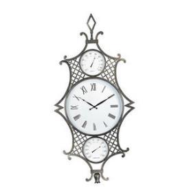Maxim Lighting 5653GO Plaza Clock & Weather Center