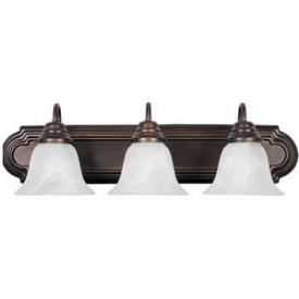 Maxim Lighting 8013 Essentials - Three Light Bath Vanity