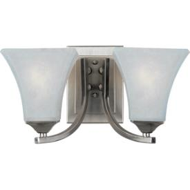 Maxim Lighting 83099FTSN Aurora ES - Two Light Bath Vanity