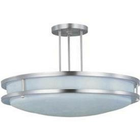 Maxim Lighting 85548WTSN Linear EE - Two Light Semi-Flush Mount