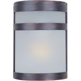 Maxim Lighting 86005FTOI Arc - One Light Outdoor Wall Lantern