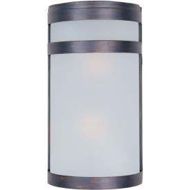 Maxim Lighting 86006FTOI Arc - Two Light Outdoor Wall Lantern