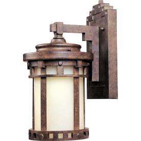Maxim Lighting 86031MOSE Santa Barbara - One Light Outdoor Wall Lantern