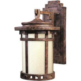 Maxim Lighting 86034MOSE Santa Barbara - One Light Outdoor Wall Lantern