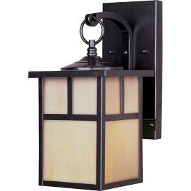 Maxim Lighting 86053HOBU Coldwater - One Light Outdoor Wall Lantern