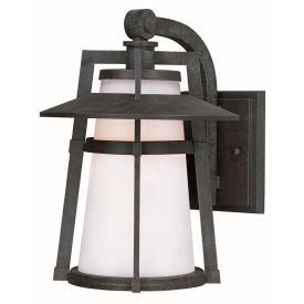 "Maxim Lighting 88536SWAE Calistoga - 15.5"" 8W 1 LED Outdoor Wall Mount"