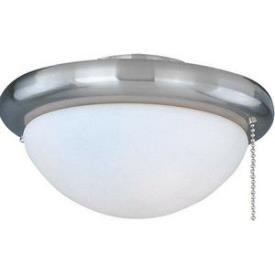 Maxim Lighting FKT206 1-light Ceiling Fan Light Kit With Wattage Limiter