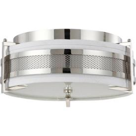 Nuvo Lighting 60/4336 Diesel ES - Three Light Medium Flush Mount