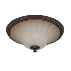 Quoizel Lighting ALZ1618PN Aliza-- Three Light Flush-Mount