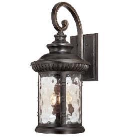 Quoizel Lighting CHI8413IB Chimera - Four Light Outdoor Wall Lantern