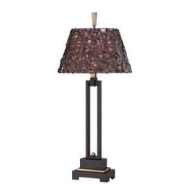 Quoizel Lighting CKAR6435PZ Aruba - One Light Buffet Lamp