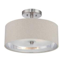 Quoizel Lighting CKMO1716BN Metro - Two Light Semi-Flush Mount