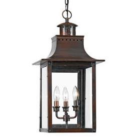 Quoizel Lighting CM1912AC Chalmers - Three Light Hanging Lantern