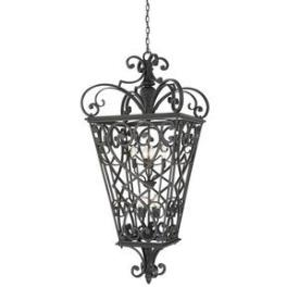 Quoizel Lighting FQ1931MK01 Fort Quinn - Eight Light Extra Large Hanging Lantern
