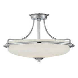 Quoizel Lighting GF1721C Griffin - Four Light Semi-Flush Mount