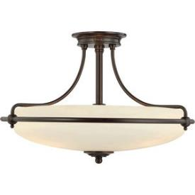 Quoizel Lighting GF1721 Griffin - Four Light Semi-Flush Mount