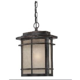 Quoizel Lighting GLN1910IB Galen - One Light Outdoor Hanging Lantern