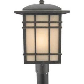 Quoizel Lighting HC9011IBFL Hillcrest - One Light Large Post Lantern