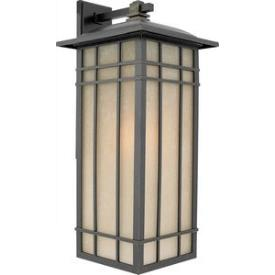 Quoizel Lighting HCE8411IB Hillcrest - One Light Outdoor Large Wall Lantern