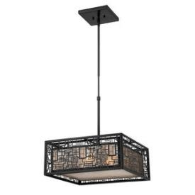Quoizel Lighting KNR2817K Kenner - Four Light Large Pendant