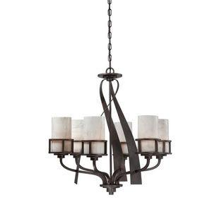 Chandelier lighting mission style lights kyle six light chandelier aloadofball Image collections