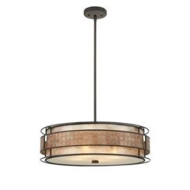 Quoizel Lighting MC8420CRC Mica - Four Light Pendant