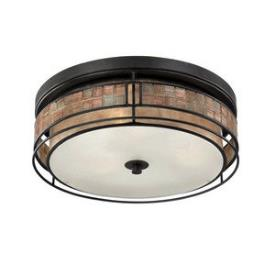 Quoizel Lighting MCLG1616RC Laguna - Three Light Outdoor Flush Mount