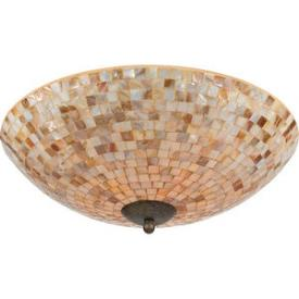 Quoizel Lighting MY1618 Monterey Mosaic - Four Light Flush Mount