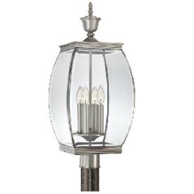 Quoizel Lighting OAS9011P Oasis - Four Light Outdoor Post Lantern
